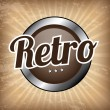 Retro background — Stok Vektör
