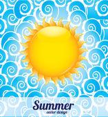 Sommer — Stockvektor