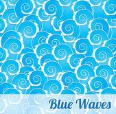 Blue design — Stock Vector