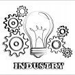 Industry — Vector de stock #27328831
