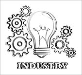 Industry — Stock Vector