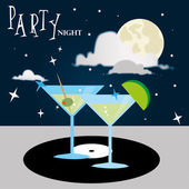 Party night — Stock Vector