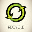 Stock Vector: Recycle