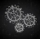 Návrh převodovky — Stock vektor