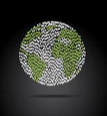 World population — Stock Vector