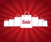 Sale bags — Stock Vector