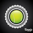 Tennis tournament — Stock Vector