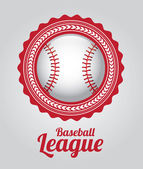Baseball league — Stock Vector