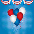 Vector de stock : Balloons design