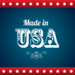 Made in usa — Stock Vector #27461697