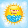 Summer days  — Stock Vector