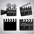 Movie film — Stock Vector