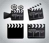 Movie film — Stock Vector