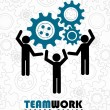 Team work — Vektorgrafik