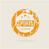 Sports league — Stock Vector