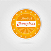 Champions league — Stock Vector