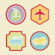 Transport icons — Stock Vector #27646153