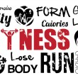 Fitness — Stockvector #27647123