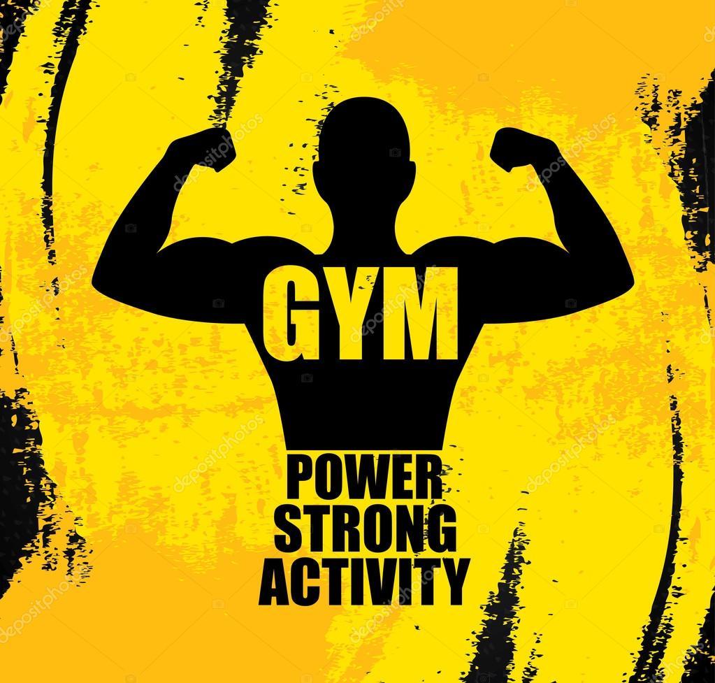 Gym — stock vector