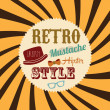 Retro style — Stock Vector