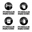 Petroleum industry — Stock Vector