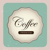 Tasse de café — Vecteur