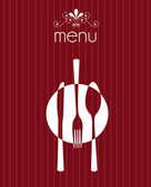 Menu vintage — Stock Vector