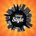 Urban Style — Stock Vector #27730027