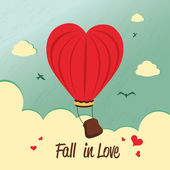 Fall in love — Stock Vector