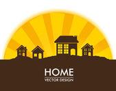 Home — Stock Vector