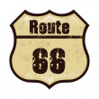 Route 66 — Vettoriale Stock #27964629