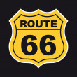 Route 66 — Vettoriale Stock #27965101