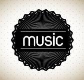 Müzik şirketi — Stok Vektör
