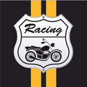Motorcycle icon — Stock Vector