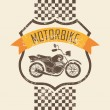 Motorcycle icon — Stock Vector #28303625
