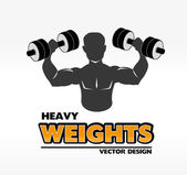 Ağır ağırlık — Stok Vektör