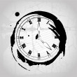 Time painted — Stock Vector