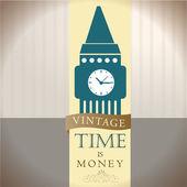 Tijd is geld — Stockvector