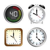 Watches icons — Cтоковый вектор