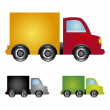 Trucks design — Stock Vector