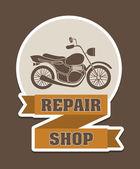 Repair shop — Stock Vector