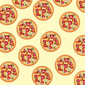 Pizza skin — Stock Vector