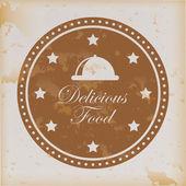 Delicious food — Stock Vector