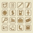 Social icons — Vector de stock
