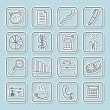 Social icons — Stock Vector