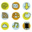 Web icons — Stock Vector #28673609