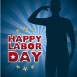 Happy labor day  — Imagen vectorial