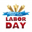 Stock Vector: Labor day