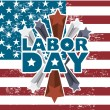 Labor day — Stock Vector