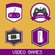 Video games — Stock Vector